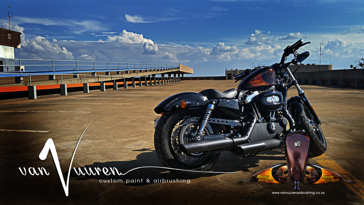 Van Vuuren Motorcycle Custom Paint and Airbrushing